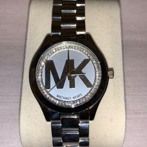 Michael Kors women's silver watch New